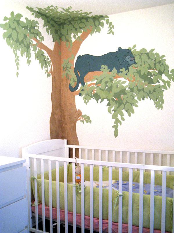 Kinderzimmer wandgestaltung dschungelbuch  Dschungelbuch Zimmer ~ Alle Ihre Heimat Design Inspiration